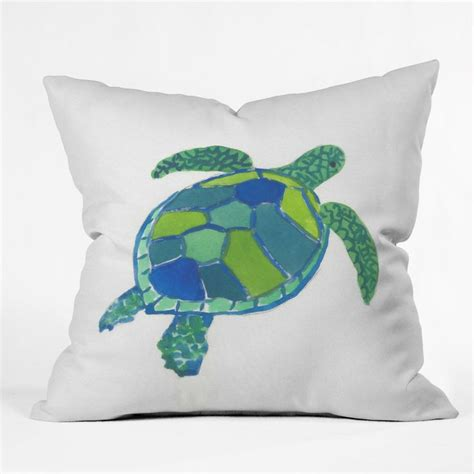 Turtles Pillow trevey sea turtle throw pillow