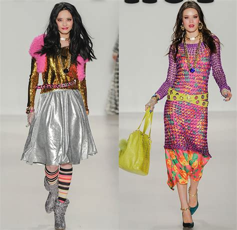 16 Best Sequin Dresses For Fall Winter 2009 2010 by Betsey Johnson 2014 2015 Fall Winter Womens Runway Denim