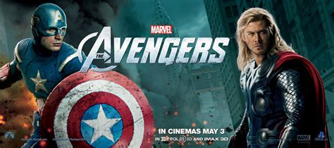 film thor captain america the avengers banners and japanese poster collider