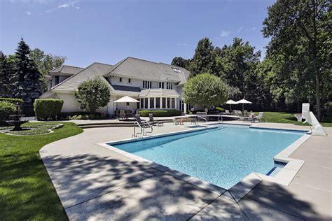 big backyard pools 50 luxury swimming pool designs designing idea
