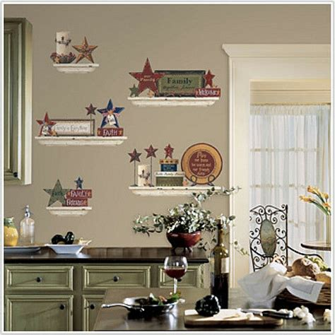 country friends family wall stickers  decals shelves