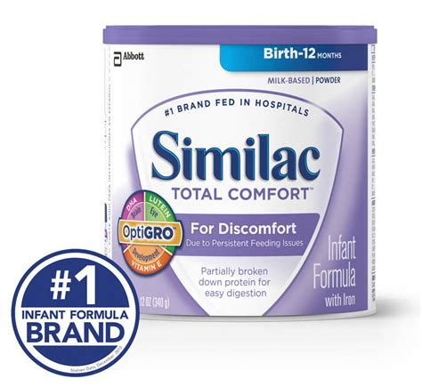 Total Comfort by Similac Total Comfort Infant Formula With Iron