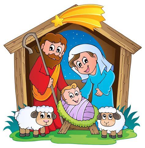 clipart presepe homilias para los sencillos la sagrada familia ciclo c