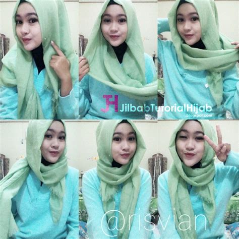 tutorial hijab pasmina simple dan terbaru 6 tutorial style hijab pashmina simple jilbab tutorial hijab