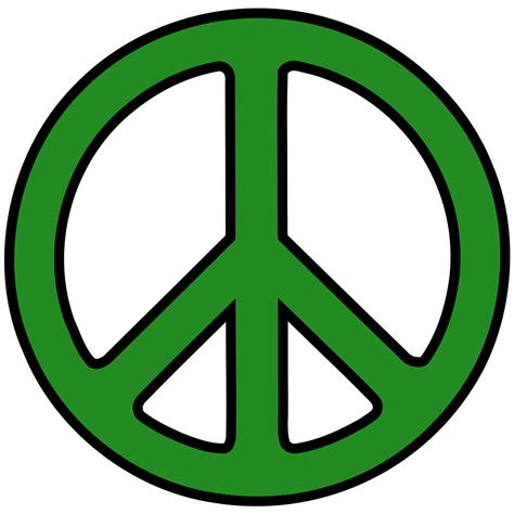 peace sign green peace sign filter for profile pictures