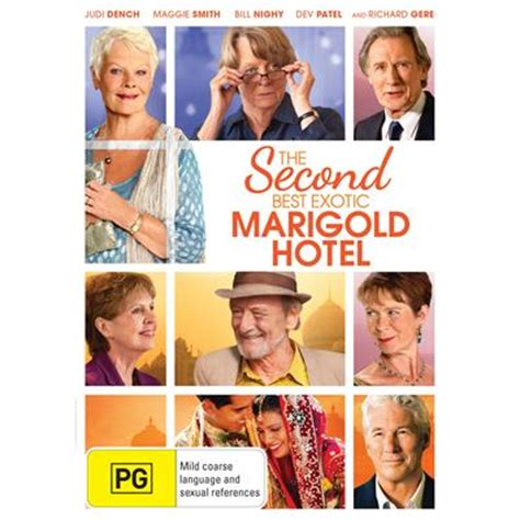 best marigold hotel dvd second best marigold hotel the dvd region 4
