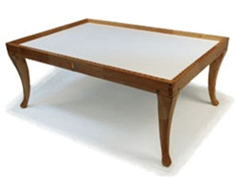 nilo wooden multi activity table w french legs
