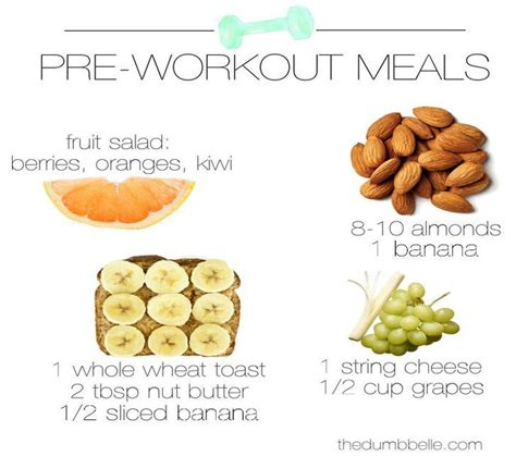 7 Great Pre Workout Snacks by Get All The Best Information Here Pre Workout Snacks