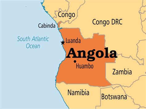 africa map angola angola hosting inter africa coffee organization meeting