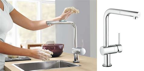 cuisine touch robinet cuisine grohe minta touch cmr