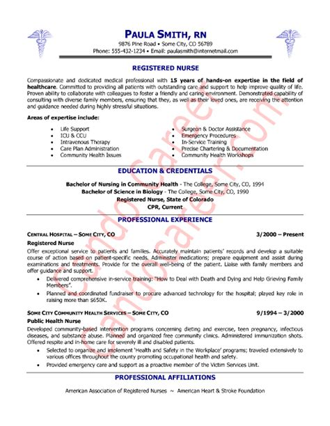 new registered resume sle sle cover