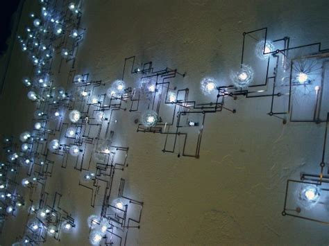 how to make a circuit board with light bulb led light installation evokes circuit board design wired