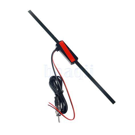 auto car lified antenna 12v electronic stereo am fm radio universal ma ebay