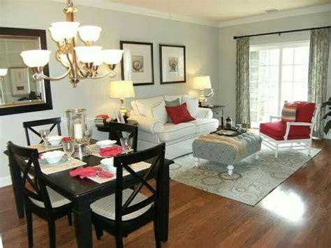 como decorar sala  comedor juntos elegantes modernos