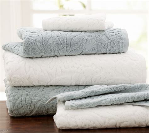 bath linens isaac floral sculpted bath towels traditional bath