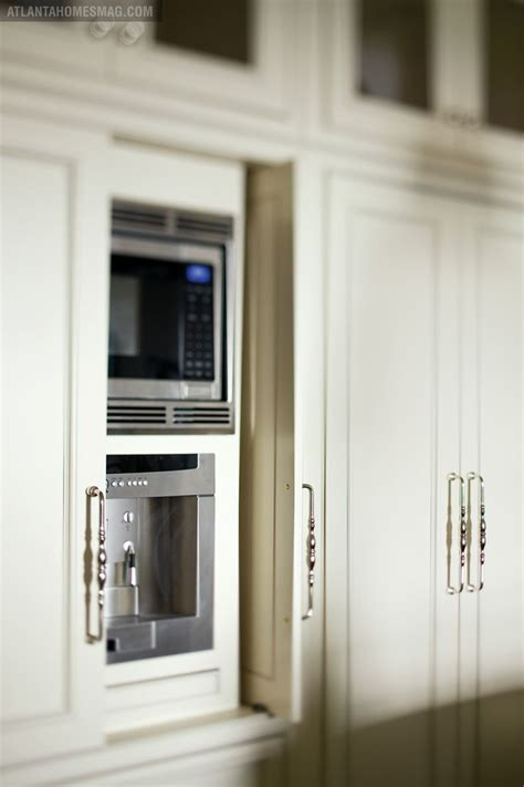 Kitchen Cabinets Sliding Doors Pocket Door Cabinets Applicances Appliance Inspiration Pinterest