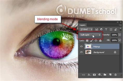 Trik Memburu Foto Dan Desain Grafis Dengan Jubilee membuat mata seindah pelangi dengan photoshop