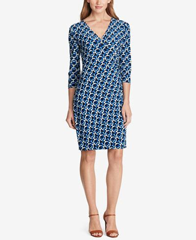 geo patterned jersey dress american living geo print jersey dress dresses women