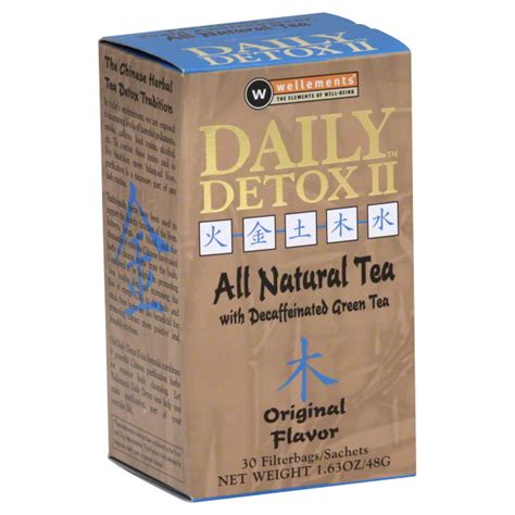 Detox Herb Tea Erfahrungen by Daily Detox Herbal Tea Original 30 Servings