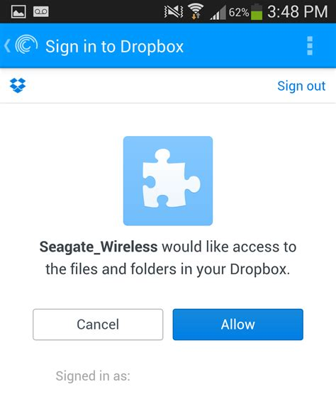 dropbox logout how to setup your wireless plus to sync with dropbox or