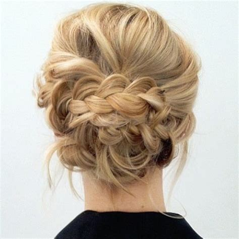Wedding Hair Updo Soft by Updo Braided Updo And Up Dos On