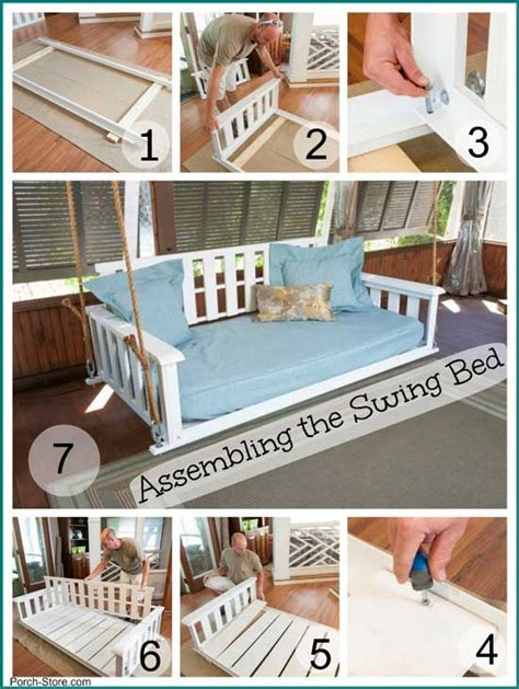 how to build a porch swing bed perfect porch swing beds for maximum comfort porch