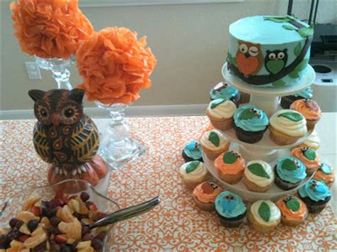 How To Make Owl Cupcakes For Baby Shower by Bake Me A Cake Owl Baby Shower Cake Cupcakes
