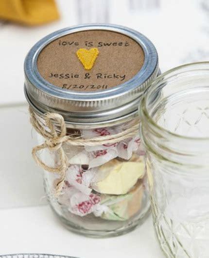 Kraft   Yellow Mason Jar Wedding Favors ? DIY Weddings
