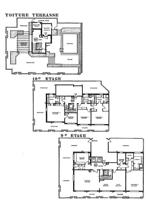 quad plex plans triplex building plans find house plans