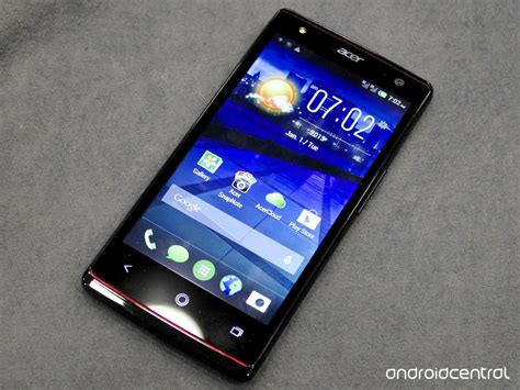 Acer Liquid E3 Android Phone on with the acer liquid e3 android central