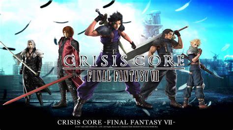 film final fantasy vii crisis core rewind review crisis core final fantasy vii