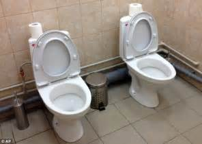 Two Toilets In One Bathroom Andrea Ranocchia Posts Picture Of Two Toilets Together In
