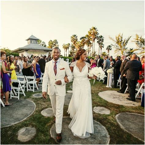 A Glamorous Tropical Wedding By Nadia D. Photography   Bajan Wed : Bajan Wed   Bride & Groom