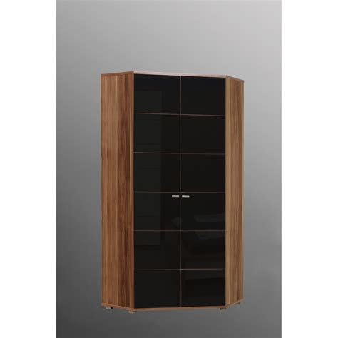 ideal furniture anemone corner wardrobe walnut with
