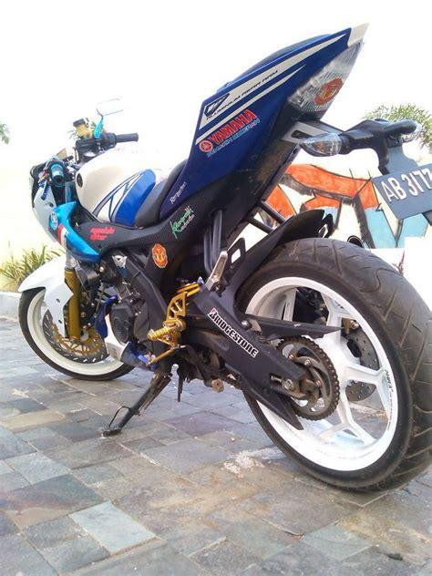 Shock Depan Byson Asli Yamaha ubah yamaha r15 jadi merdeka