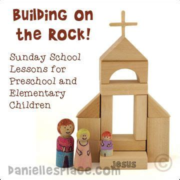 Building On The Rock Bible Lesson Series For Preschool And