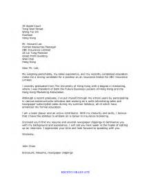 Recent College Grad Cover Letter by Sle Resume Cover Letter Recent Graduate Recent Graduate