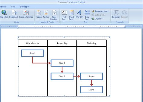 microsoft office flowchart template word de ak莖蝓 199 izelgesi flow chart nas莖l yarat莖l莖r