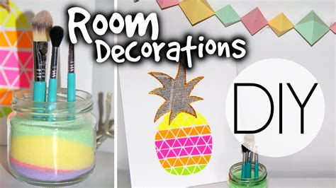 Room Diy Decor Diy Summer Room Decorations