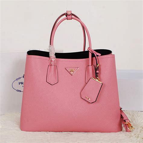 Pink Bag baby pink prada bag blue prada wallet