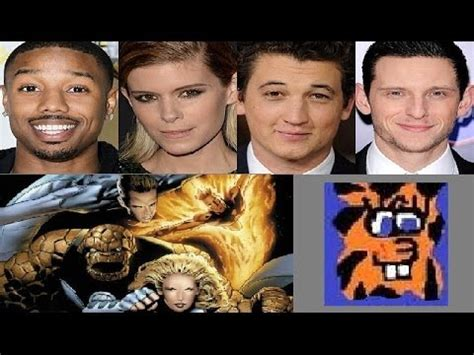 With The 4 Cast Revealed by Fantastic Four 2015 Cast Revealed
