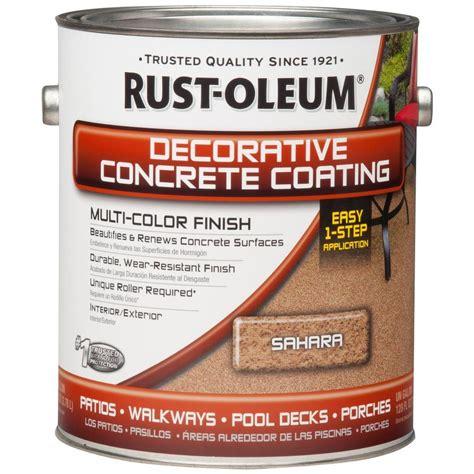 rust oleum concrete stain  gal sahara decorative
