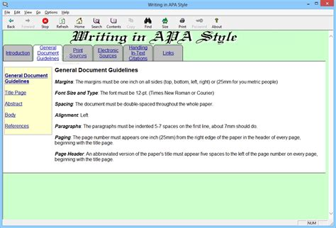 format ebook exe download writing in apa style 1 1
