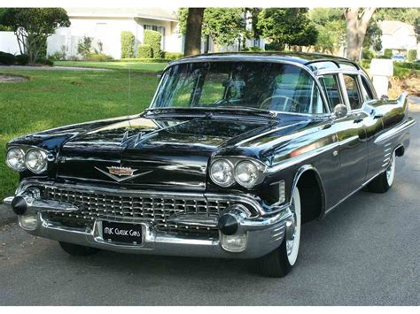 1958 Cadillac Fleetwood by 1958 Cadillac Fleetwood For Sale Classiccars Cc