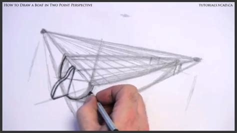 how to draw a boat in perspective boat in two point perspective learn how to draw free