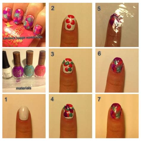 easy nail art designs step by step lovely step by step nail tutorials