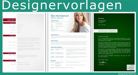 Bewerbung Grafikdesign Resume Template With Cover Letter For A Application