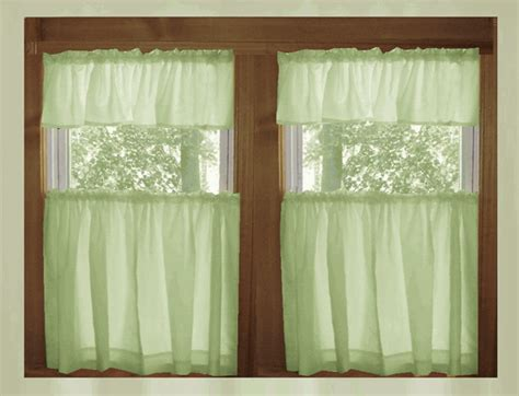 pale green curtains pale green kitchen cafe tier curtains