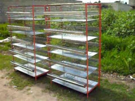 conejeras de madera baratas bateria quintuple de jaulas para codorniz