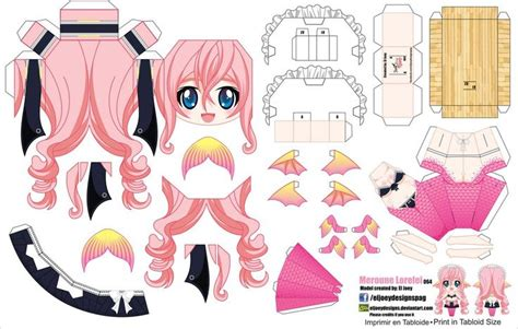 anime paper crafts hazlo tu mismo papercrafts de anime y m 225 s segunda parte